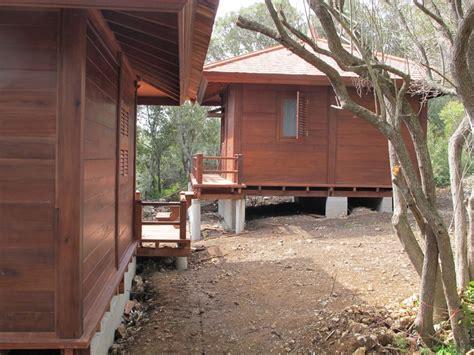 grohe cuisine cottage bungalows pavillons bois en kit avec mobiteck