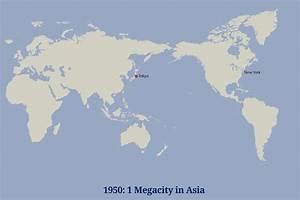 Development of asian megacities identities