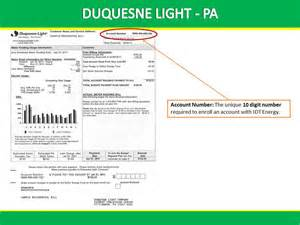 Delmarva Power And Light by Duquesne Light Bill Example