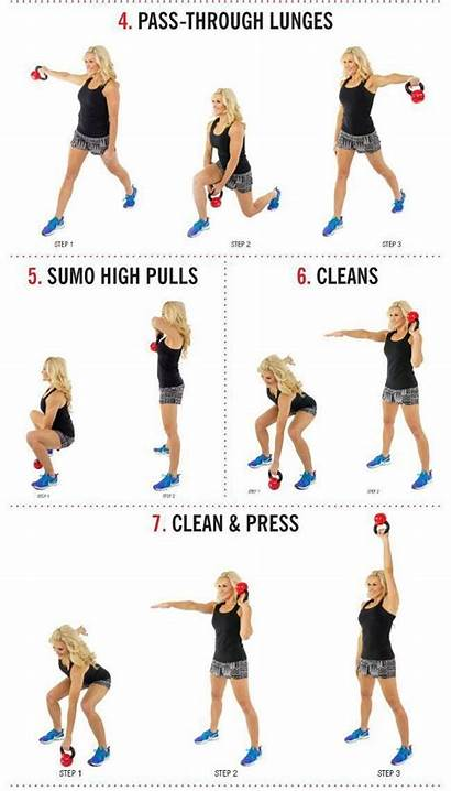 Kettlebell Exercises Workouts Arm Workout Ab Beginners