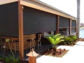 sunshade outdoor blinds aussie pergolas