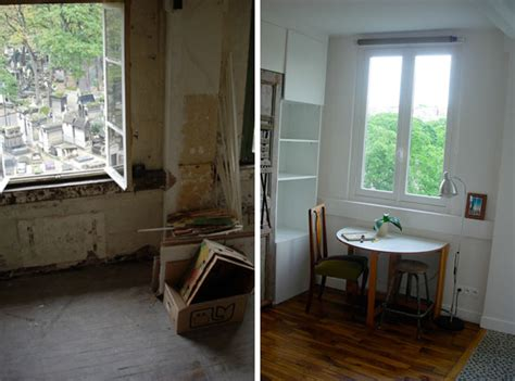 Apartment Makeover Before & After In Erica's Montmartre