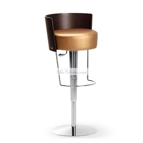 chaises cuisine but tabouret de bar réglable en cuir bongo et tabourets bar