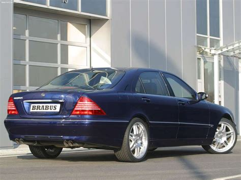Brabus Mercedes-Benz S-Class picture # 10 of 16, Rear ...