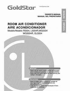Download Free Pdf For Lg Wg5004r Air Conditioner Manual