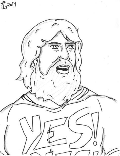 Brock Lesnar Coloring Pages at GetColorings.com | Free