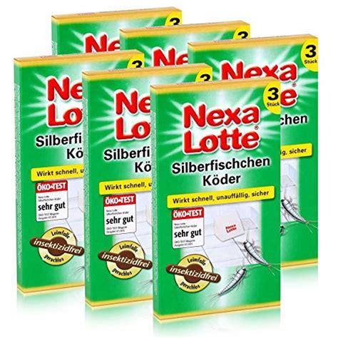 Was Macht Gegen Silberfische by Silberfischk 246 Der Test Top Produkt Test