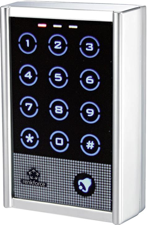 renkforce  codeslot opbouw ip met touchscreen met verlicht toetsenbord conradnl