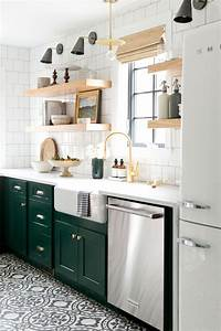 green kitchen cabinet inspiration 2243