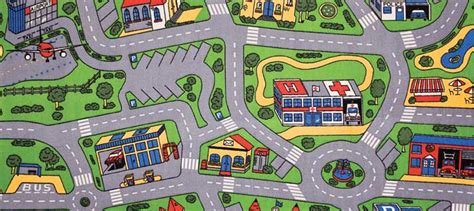 car play rug streets play mats for play rug for cars more 1986