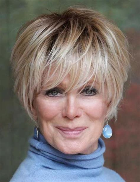 20 Lovely short haircuts for older women over 50 for 2019