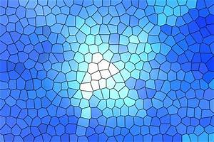 White And Blue Stained Glass Wallpaper HQ Free Download ...