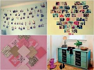 Photo on the wall diy decorating the bedroom to make it for Diy ideas for bedrooms