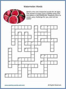 Easy Crossword Puzzles For Learning Fun