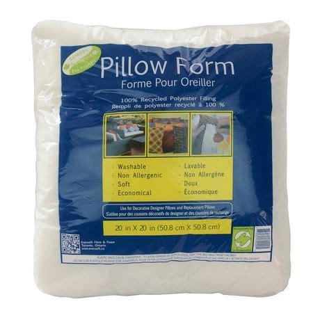 walmart pillow forms eversoft 20 quot pillow form walmart ca