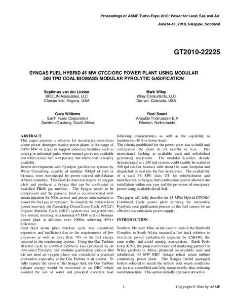 Proceedings of ASME Turbo Expo 2010 Final