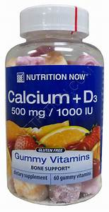 Nutrition Now Calcium Gummy Vitamins At Netrition Com