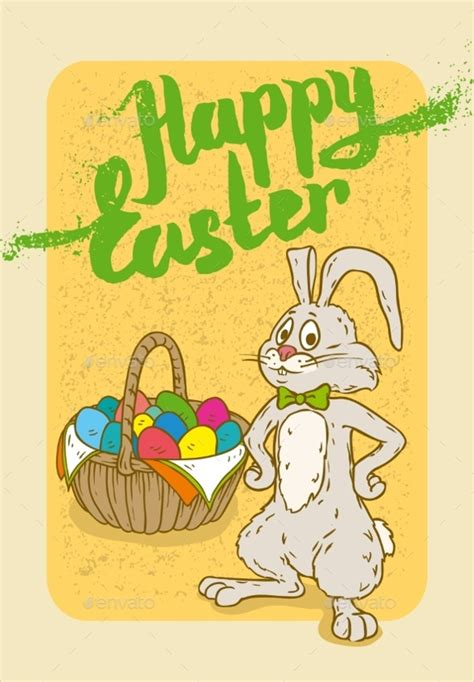 19 Easter Postcard Templates To Download  Sample Templates