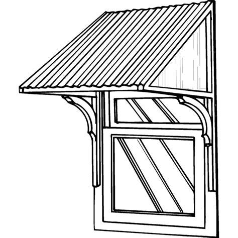 woodwork   build  window canopy plans  plans