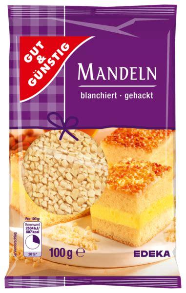 Gut & GÜnstig Mandeln Gehackt Von Edeka