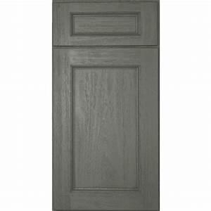 Midtown Gray Cabinet Door Sample: Kitchen Cabinets