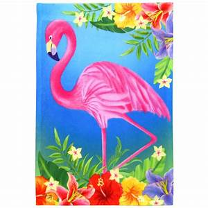 Flamingo Garden Flags Fancy And Decorative Flamingo Garden