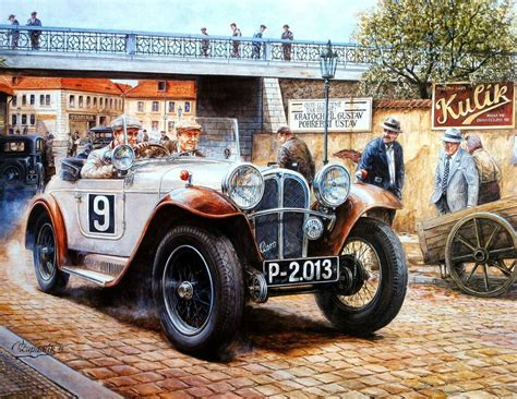 Vintage Model Race Cars by Vintage Print Poster Vintage Racing Cars Race Car