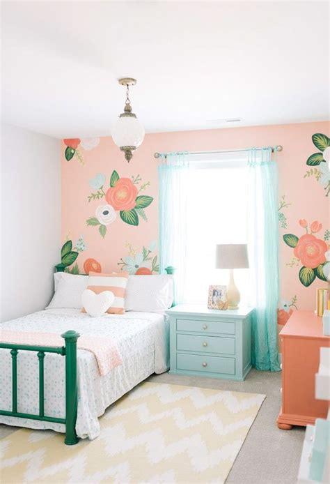 idee deco chambre moderne peinture chambre fille 12 idées modernes et féminines