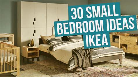 Ikea Bedroom Ideas 2013 by 30 Small Bedroom Ideas Ikea