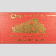 Ho Scale Key (famous Train 2), Up, 4884 Big Boy, Rc29