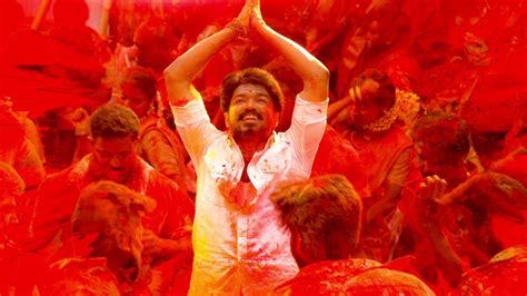 Vijay's Mersal Single Is All Set To Become A Tamil Anthem