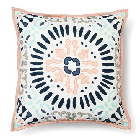 decorative pillows target medallion decorative pillow square multicolor target