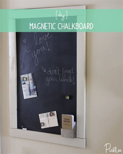 painting sheet metal with chalkboard paint diy sheet metal magnetic chalk board tutorial picklee