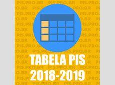 TABELA PIS 2018 2019 → Calendário PIS 2018 ATUALIZADO!!!