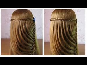 Coiffure Simple Femme : tuto coiffure simple cheveux long coiffure tresse facile a faire soi meme youtube cloe ~ Melissatoandfro.com Idées de Décoration