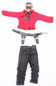 Ideal Captain Action Lone Ranger Clothing Mask Holster Belt Vintage Toys