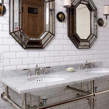 Octagon Bathroom Mirror by Octagon Mirror Contemporary Bathroom Pricey Pads
