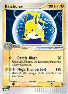 Raichu ex | EX Sandstorm | TCG Card Database | Pokemon.com