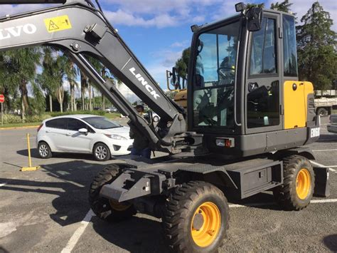 volvo ewc wheeled excavators construction equipment
