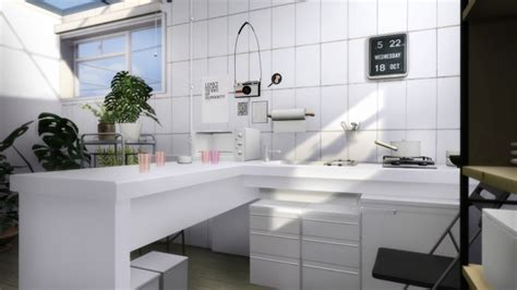 compact kitchen  slox sims  updates