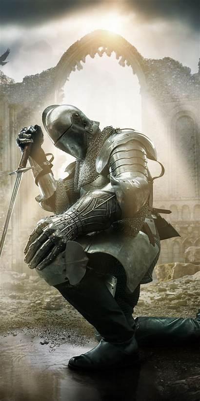 Templar Knights Artwork Honor Knight Silhouette Christian