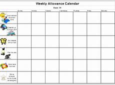 Casual Friday Create an allowance chart in Excel – The