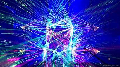 Electronic Festivals Gifs Moments Giphy Animated Laser