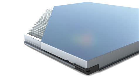 Nahtloses Metallfassadensystem by Nahtloses Metallfassadensystem Fassade News Produkte