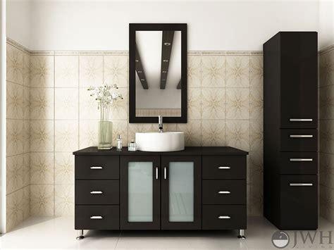 grand lune single bathroom vanity espresso