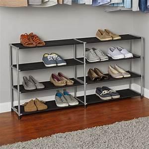 Mainstays, 4, Tier, Boot, Shoe, Rack, -, Walmart, Com