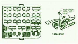 93 Chevrolet G20 Fuse Diagram
