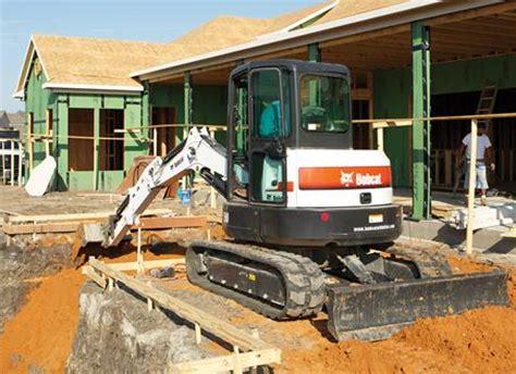 excavator specs options bobcat company