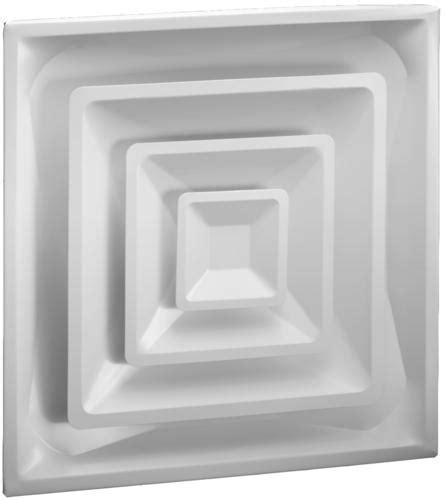 "Ameriflow 24"" x 24"" Lay In Cone Ceiling Diffuser at Menards®"