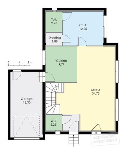 plan maison rdc 3 chambres plan de maison sans toit il su0027agit du0027une maison